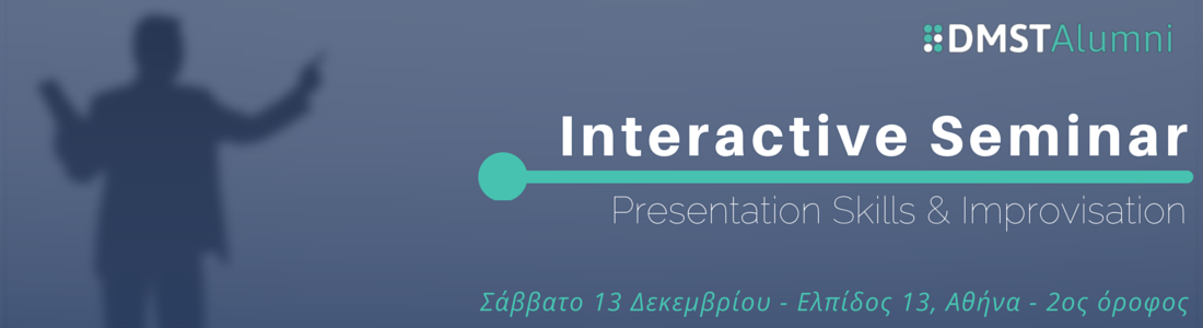 Presentation Skills and Improvisation – Interactive Seminar